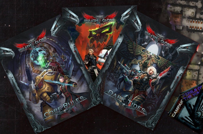 taking a look at 40k rpg wrath glory